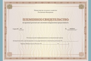 """Новый раздел """"Бланки организаций сельского хозяйства"""""""
