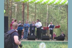 Открытие мемориала «Костер Космонавтов» и «Пляжа Космонавтов»